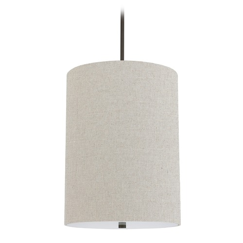 Capital Lighting Capital Lighting Loft Burnished Bronze Pendant Light with Cylindrical Shade 3924BB-627