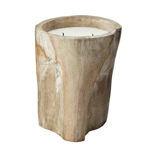 Dimond Home White Pepper Log Candle - Large 784043