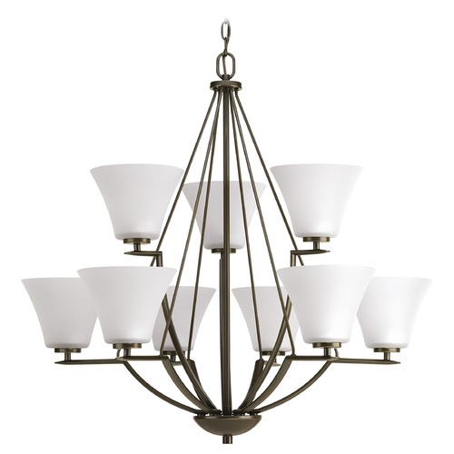 Progress Lighting Progress Lighting Bravo Antique Bronze Chandelier P4625-20W