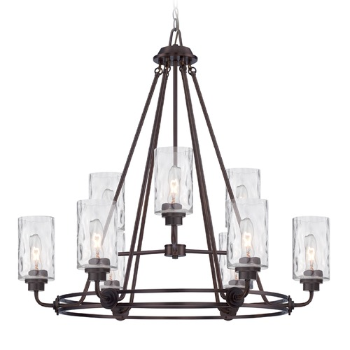 Designers Fountain Lighting Designers Fountain Gramercy Park Old English Bronze Chandelier 87189-OEB