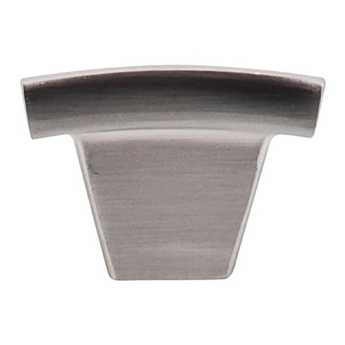Top Knobs Hardware Modern Cabinet Knob in Brushed Satin Nickel Finish TK1BSN
