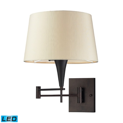 Elk Lighting Elk Lighting Swingarms Aged Bronze LED Swing Arm Lamp 10292/1-LED