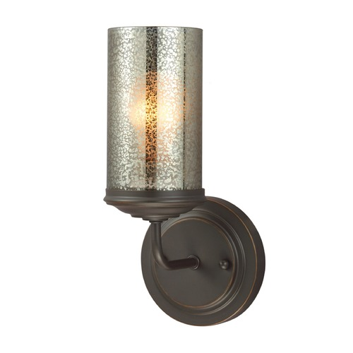 Sea Gull Lighting Mercury Glass Sconce Bronze Sea Gull Lighting 4110401-715
