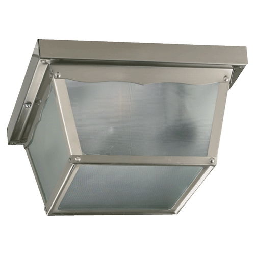 Quorum Lighting Quorum Lighting Satin Nickel Close To Ceiling Light 3080-9-65