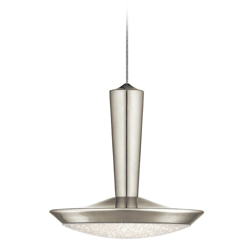 Elan Lighting Elan Lighting Karah Brushed Nickel LED Pendant Light 83691