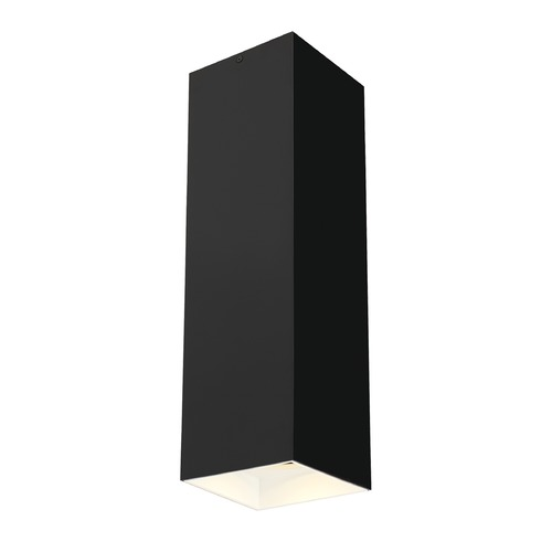 Tech Lighting Black / White LED Semi-Flush Ceiling Light by Tech Lighting 700FMEXO1820BW-LED927