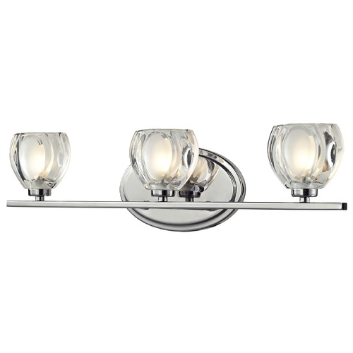 Z-Lite Z-Lite Hale Chrome Bathroom Light 3023-3V