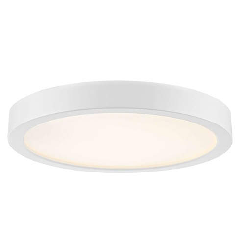 Design Classics Lighting Design Classics Gem White LED Flushmount Light 8279-WH