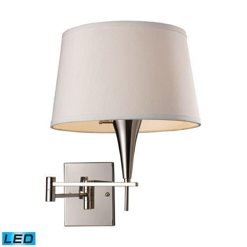 Elk Lighting Elk Lighting Swingarms Polished Chrome LED Swing Arm Lamp 10108/1-LED
