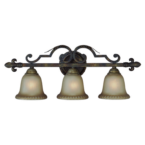 Jeremiah Lighting Jeremiah Devereaux Burleson Bronze Bathroom Light 25703-BBZ