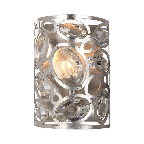 Crystorama Lighting Crystorama Lighting Sterling Distressed Twilight Sconce 7581-DT