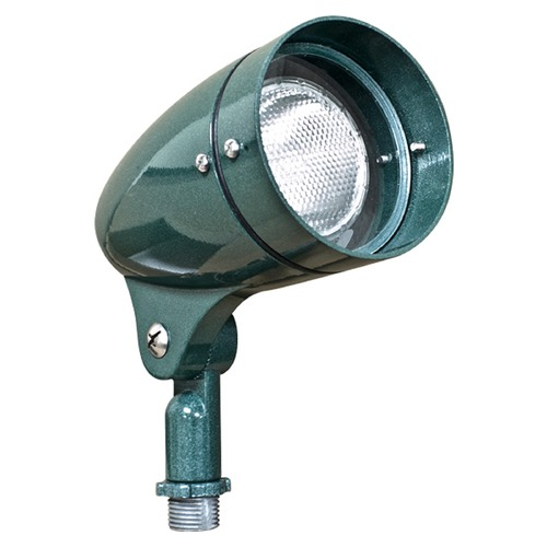Dabmar Lighting Green Cast Aluminum Directional Spot Light DPR21-G