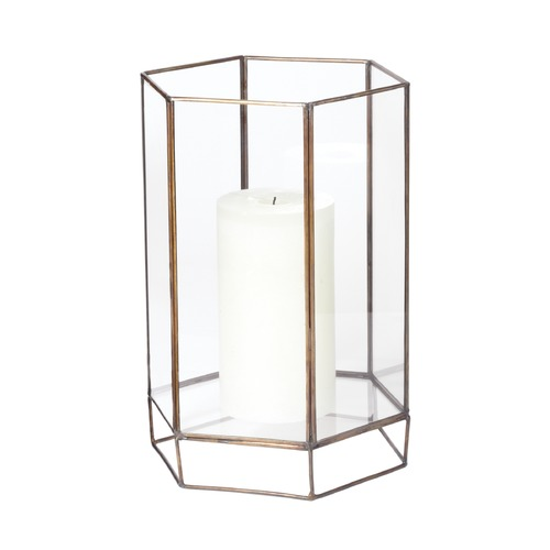 Dimond Lighting Glass Oriel Hurricane - Small 784052
