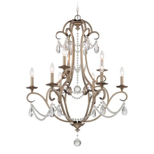 Designers Fountain Lighting Designers Fountain Gala Argent Silver Chandelier 86089-ARS
