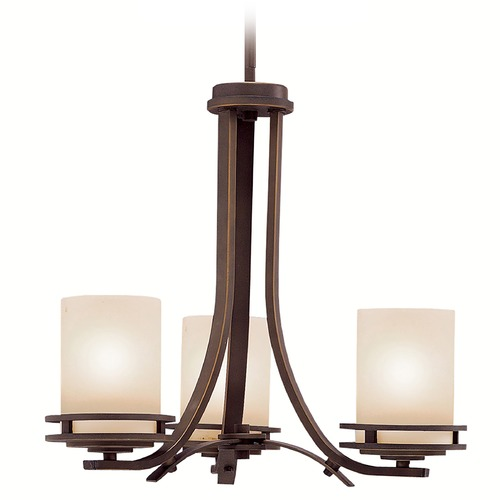 Kichler Lighting Kichler Modern Mini-Chandelier in Bronze Finish 1671OZ