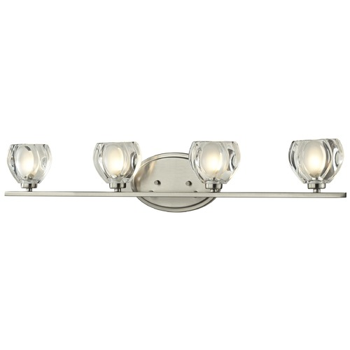 Z-Lite Z-Lite Hale Brushed Nickel Bathroom Light 3022-4V