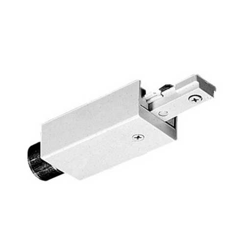 Juno Lighting Group Conduit Adapter for Juno Single Circuit Track T34 WH