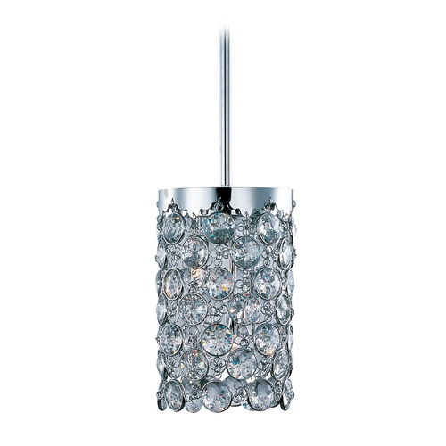 ET2 Lighting Modern Mini-Pendant Light with Clear Glass E21152-20PC