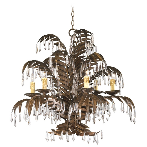 Cyan Design Cyan Design Largo Golden Antiqua Crystal Chandelier 6507-6-17