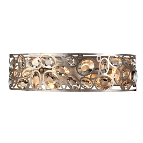 Crystorama Lighting Crystorama Lighting Sterling Distressed Twilight Bathroom Light 7585-DT