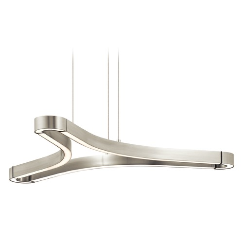 Elan Lighting Elan Lighting Zell Satin Nickel LED Pendant Light 83696