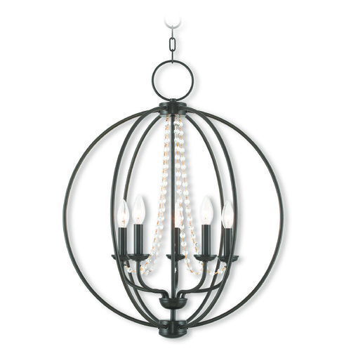 Livex Lighting Livex Lighting Arabella English Bronze Chandelier 40915-92