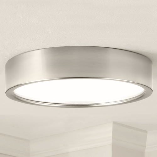 Progress Lighting Progress Lighting Portal Brushed Nickel LED Flushmount Light P3632-0930K9
