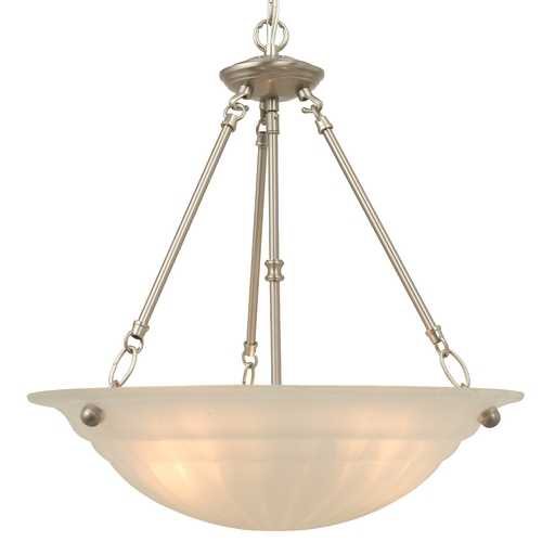 Design Classics Lighting Three-Light Pendant 3605-09