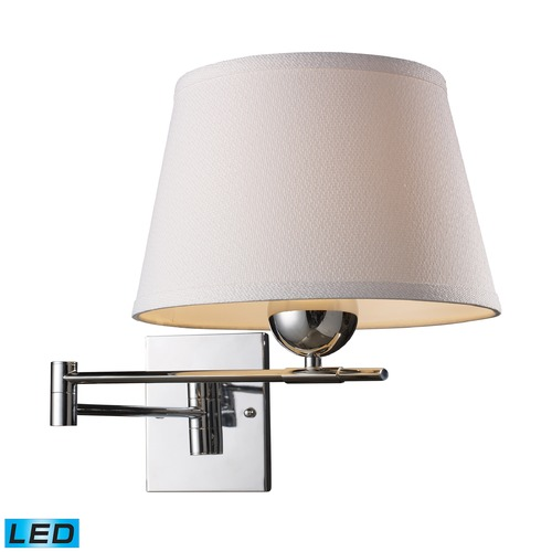 Elk Lighting Elk Lighting Lanza Polished Chrome LED Swing Arm Lamp 10106/1-LED