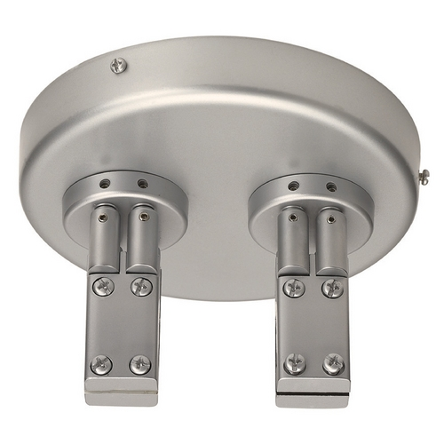 WAC Lighting Wac Lighting Brushed Nickel Rail, Cable, Track Accessory LM2-DCPC-BN