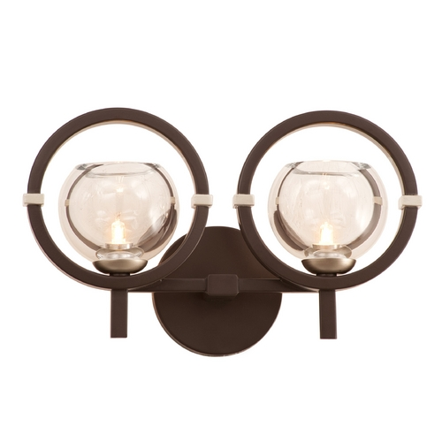Kalco Lighting Kalco Lighting Lunaire Old Bronze Bathroom Light 6302OB-1