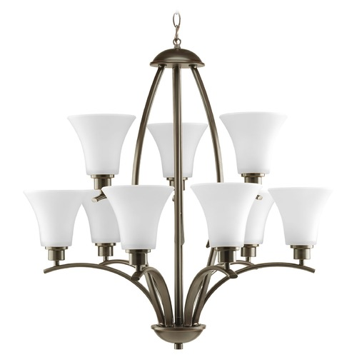 Progress Lighting Progress Lighting Joy Antique Bronze Chandelier P4492-20W