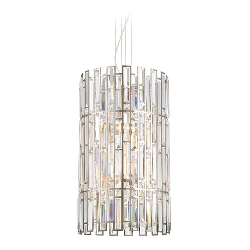 Designers Fountain Lighting Designers Fountain West 65th Satin Platinum Pendant Light 88256-SP