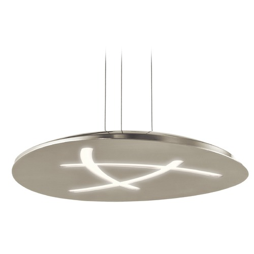 Elan Lighting Elan Lighting Orku Brushed Nickel LED Pendant Light 83697