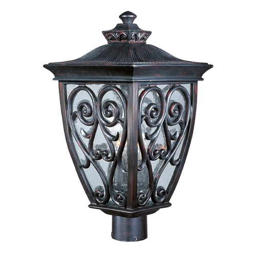 Maxim Lighting Maxim Lighting Newbury Vx Oriental Bronze Post Light 40120CDOB