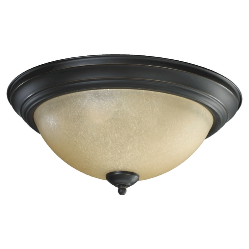 Quorum Lighting Quorum Lighting Old World Flushmount Light 3073-15-95