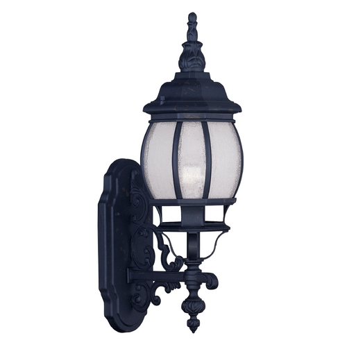 Livex Lighting Livex Lighting Frontenac Black Outdoor Wall Light 7900-04