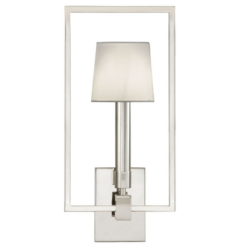 Fine Art Lamps Fine Art Lamps Grosvenor Square Polished Nickel Sconce 211250ST