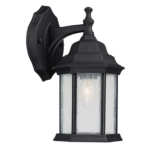 Capital Lighting Capital Lighting Main Street Black Outdoor Wall Light 9832BK
