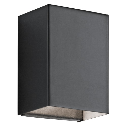 Kichler Lighting Kichler Lighting Walden Textured Black LED Outdoor Wall Light 49550BKTLED