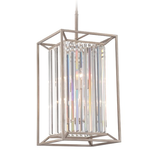 Designers Fountain Lighting Designers Fountain Linares Aged Platinum Pendant Light 87454-AP