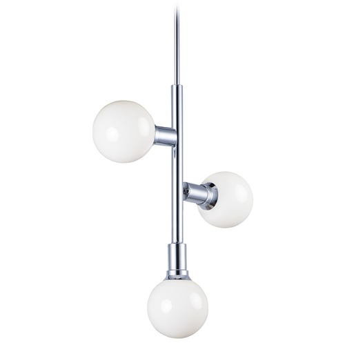 Maxim Lighting Maxim Lighting Molecule Polished Chrome Chandelier 11344PC