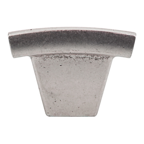 Top Knobs Hardware Modern Cabinet Knob in Pewter Antique Finish TK1PTA
