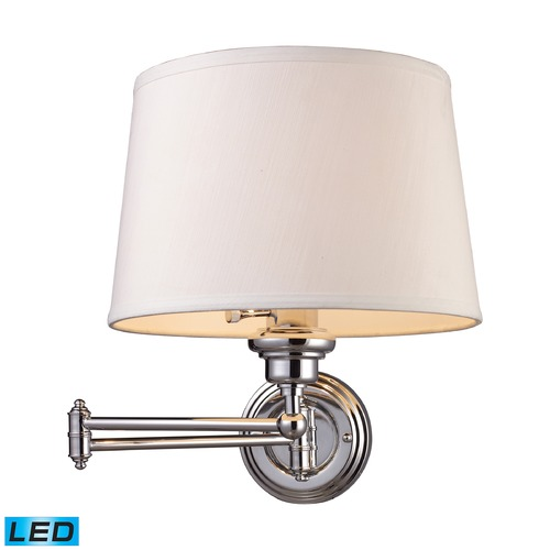 Elk Lighting Elk Lighting Westbrook Polished Chrome LED Swing Arm Lamp 11210/1-LED