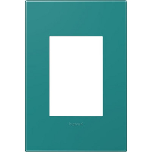 Legrand Adorne Legrand Adorne Turquoise Blue 1-Gang 3-Module Switch Plate AWP1G3TB4