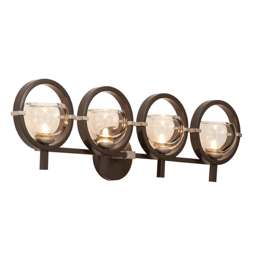 Kalco Lighting Kalco Lighting Lunaire Old Bronze Bathroom Light 6304OB-1