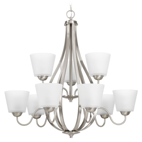 Progress Lighting Progress Lighting Arden Brushed Nickel Chandelier P4747-09