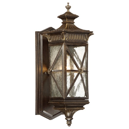 Minka Lavery Minka Rue Vieille Forged Bronze Outdoor Wall Light 9311-586