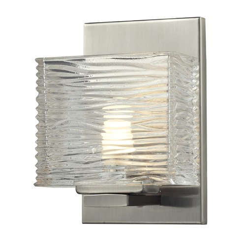 Z-Lite Z-Lite Jaol Brushed Nickel Sconce 3024-1V