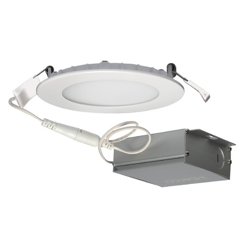 Satco Lighting Satco 10 Watt LED Direct Wire Downlight Edge-lit 4-inch 4000K 120 Volt Dimmable S11601